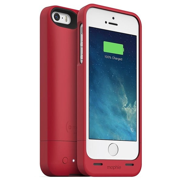mophie Red Juice Plus Case for iPhone 5/ 5s/ SE