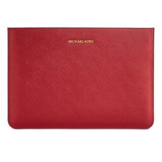 "Michael Kors Macbook Air 11"" Sleeve/Pouch - Red"