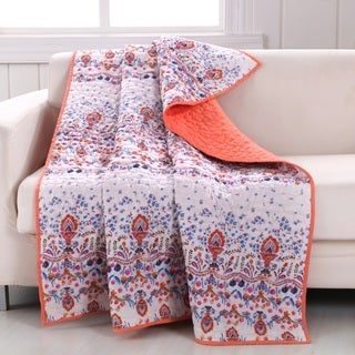 Barefoot Bungalow Amber Quilted Throw