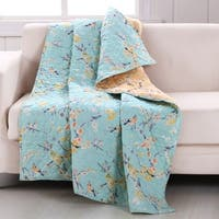 Barefoot Bungalow Cherry Blossom Throw