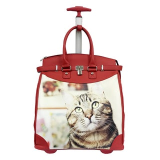 Rollies Day Dreaming Kitten 14-inch Laptop Travel Tote