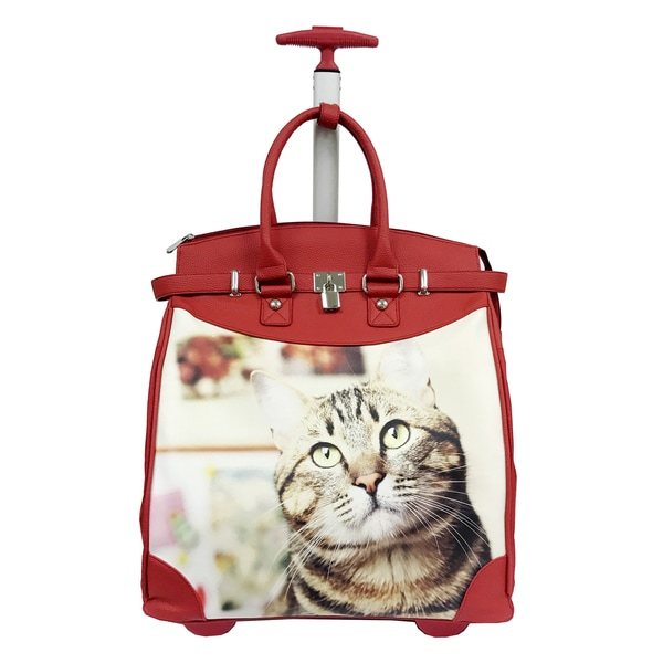Rollies Day Dreaming Kitten 14-inch Laptop Travel Tote. Opens flyout.