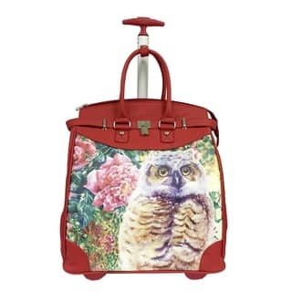 cf6b0538a85f Rollies Owl Rolling Aluminum 14-inch Laptop Travel Tote