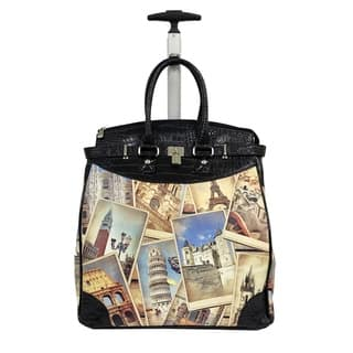 Rollies Europe Multicolor Synthetic Leather and Aluminum 14-inch Rolling Laptop Travel Tote|https://ak1.ostkcdn.com/images/products/14629877/P21170511.jpg?impolicy=medium
