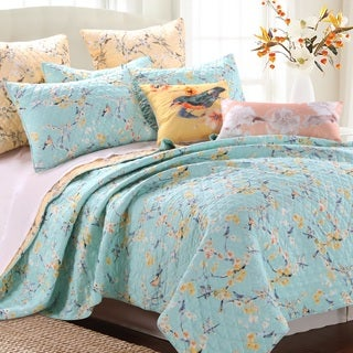 Cherry Blossom 3-piece Quilt Set