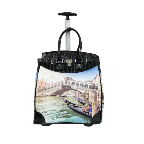 Rollies Venice 14-inch Rolling Laptop Travel Tote