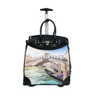 Link to Rollies Venice 14-inch Rolling Laptop Travel Tote Similar Items in Carry On Luggage