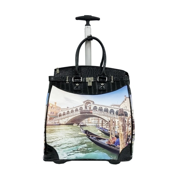 Rollies Venice 14-inch Rolling Laptop Travel Tote. Opens flyout.