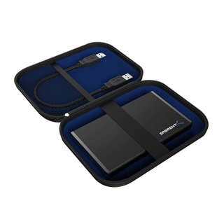 Sabrent Black EVA Hard Carrying Case Pouch for External 2.5-inch Hard Drive