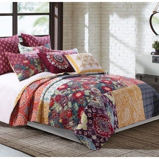 Samsara Cotton Blend Quilt Set