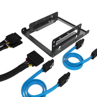 Sabrent BK-HDCC 3.5-Inch to x2 SSD / 2.5-Inch Internal Hard Drive Mounting Kit