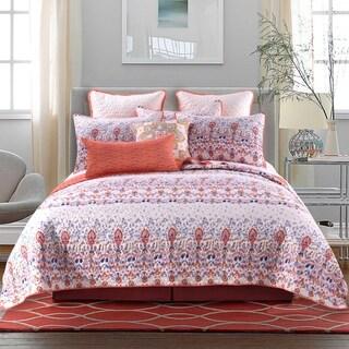 Amber Cotton Blend 3-piece Quilt Set