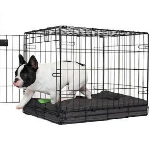 Orthopedic Memory Foam Charcoal Dog Crate Pad