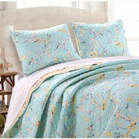 Cherry Blossom Pillow Shams (Set of Two)