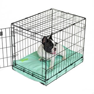 Orthopedic Aqua Memory Foam Dog Crate Pad