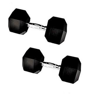 Vulcan Rubber-coated Cast Iron 70-pound Hex Dumbells (Set of 2) https://ak1.ostkcdn.com/images/products/14629974/P21170626.jpg?impolicy=medium