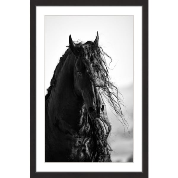 'Dragon Horse' Framed Painting Print