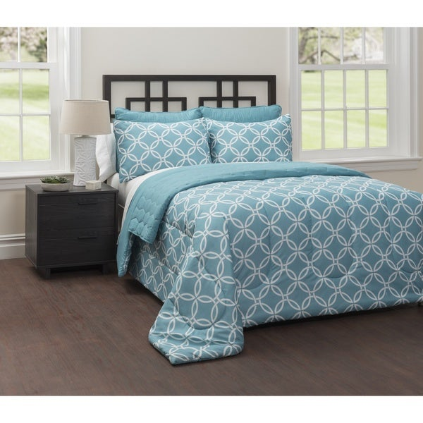 CASA Mia 6-Piece Bedding Comforter Set with Bonus Quilt
