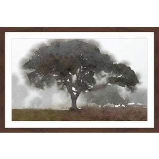 'There Was a Tree' Framed Painting Print