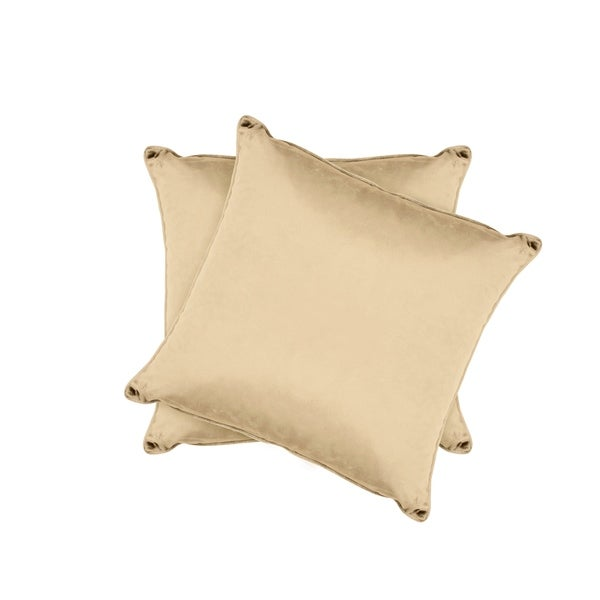 Jean Pierre Lucas Velvet 2-Piece Decorative Pillow Set