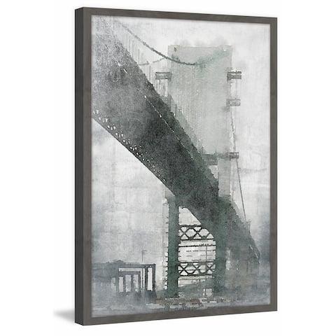 Marmont Hill - Handmade Under the Bridge Framed Print