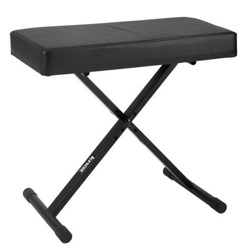 Knox KN-MB01 Adjustable X Style Keyboard Bench (Black)