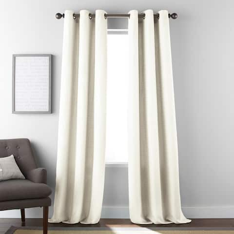 Grand Avenue Fern Grommet Window Curtain Panel Pair