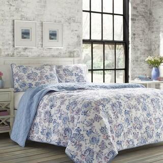 Poppy & Fritz Paige Reversible Paisley Print Cotton 3-Piece Quilt Set