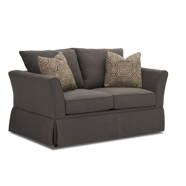 Modern Twin Sleeper Sofa: Shop Ramona Contemporary Grey Enso Memory Foam Twin Sofa
