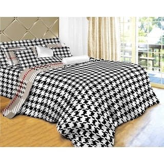 Duvet and Quilt Cover 6-piece Set Luxury Cotton Bedding by Dolce Mela