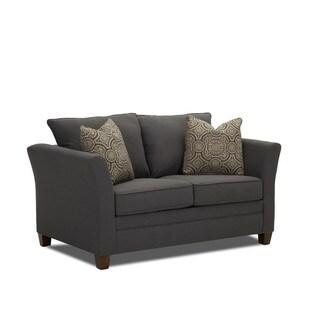Taylor Contemporary Grey Air Mattress Twin Sleeper Sofa