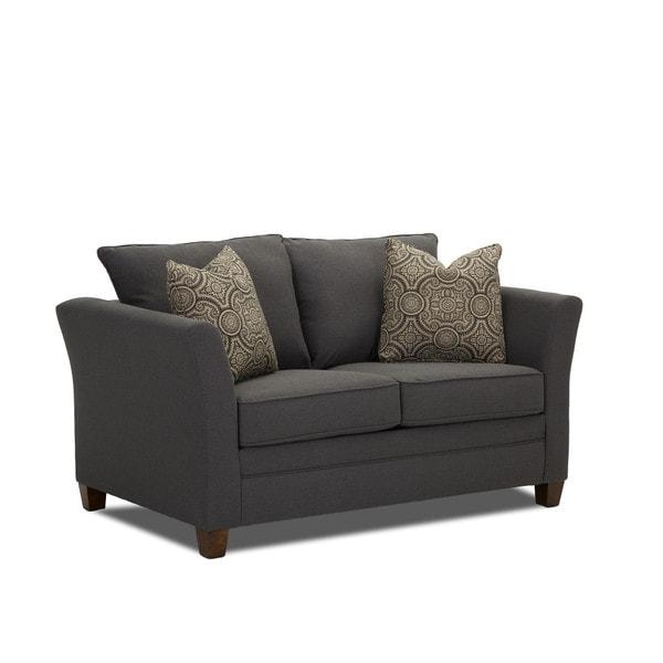 Modern Twin Sleeper Sofa: Shop Taylor Contemporary Grey Air Mattress Twin Sleeper