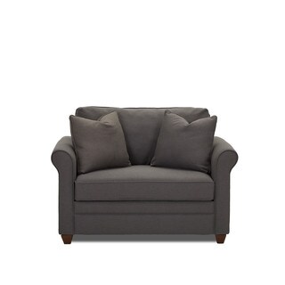 Dopler Contemporary Grey Innerspring Chair Sleeper