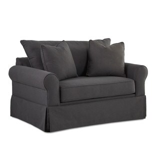 Brook Contemporary Grey Dreamquest Chair Sleeper