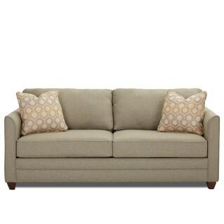 Tilly Contemporary Tan Innerspring Queen Sleeper Sofa