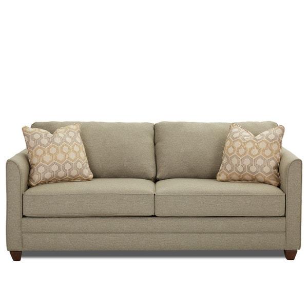 Shop Tilly Contemporary Tan Innerspring Queen Sleeper Sofa