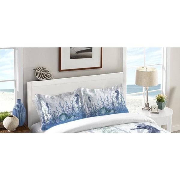 Laural Home Aqua Sea Life Pillow Sham