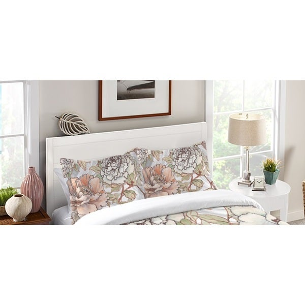 Laural Home Blushing Florals Standard Pillow Sham