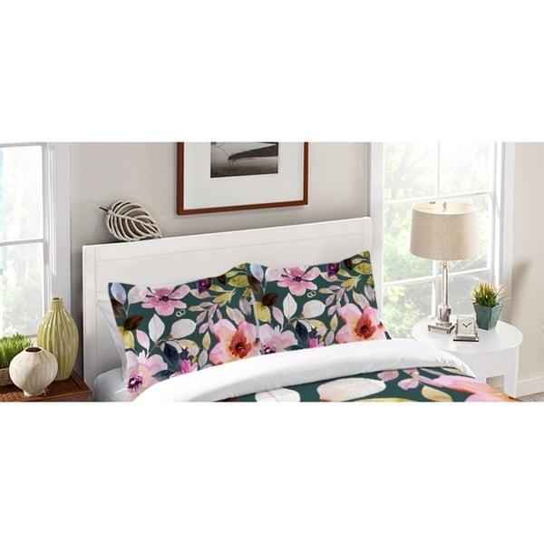 Laural Home Pink Floral Dreams Standard Pillow Sham