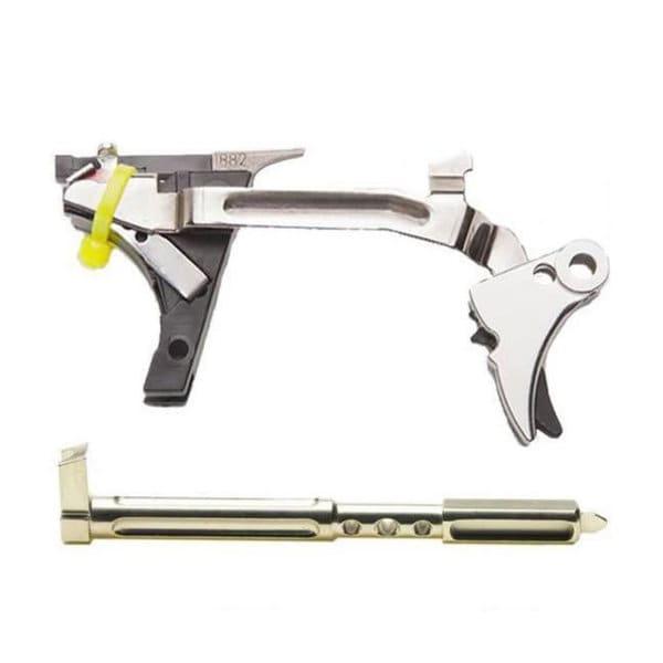 ZEV Technologies FUL-ULT-9-B-R Adjustable Fulcrum Ultimate Trigger Kit, 1st-3rd Gen, Glock 9mm, Blk/Red