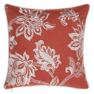 14 Karat Home Solid French Country Feather Down Fill 18-inch Throw Pillow