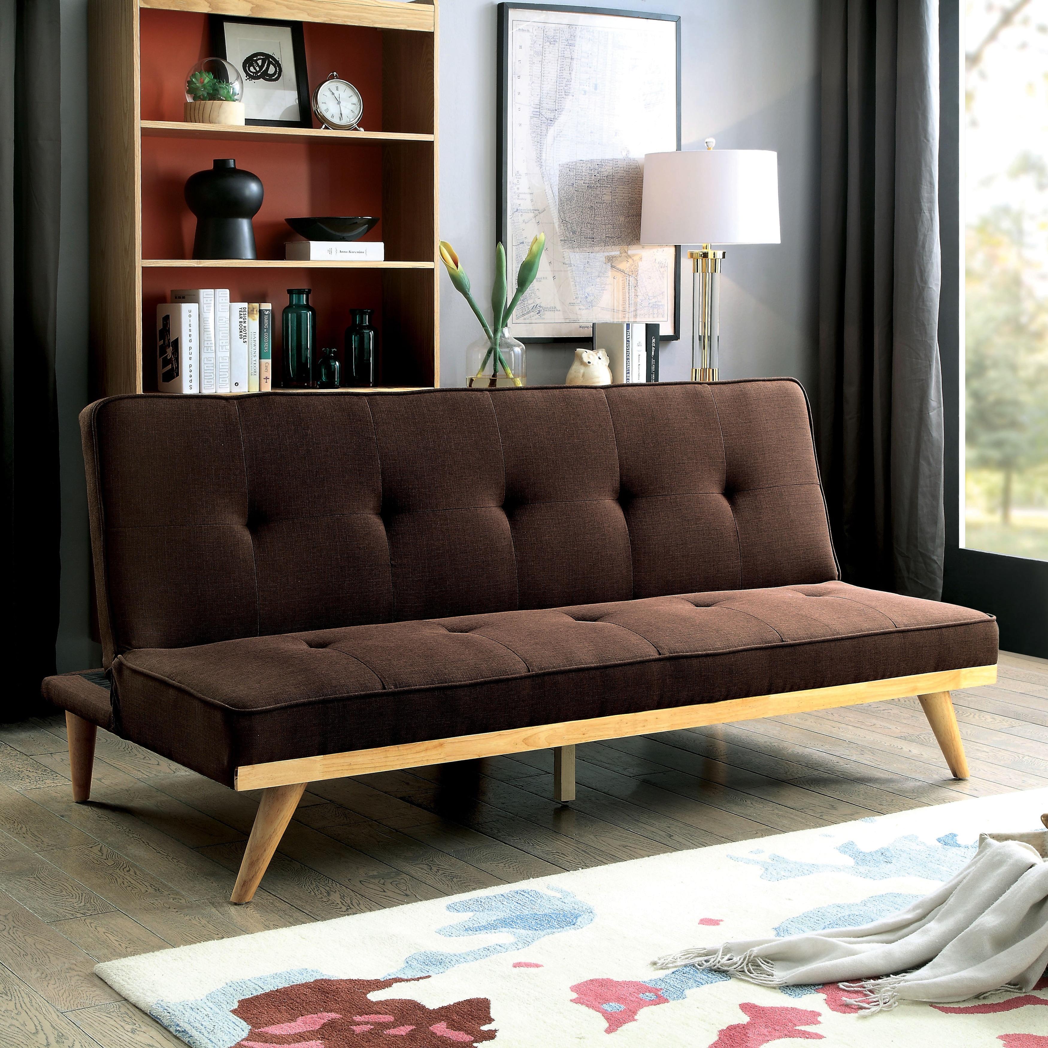 Modern Tufted Futon Sofa Bed Modern Futon Sofa Bed Roselawnlutheran Thesofa