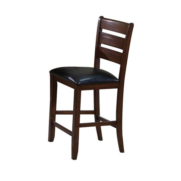 Acme Furniture Urbana Black And Cherry Counter Height Chair Set Of 2 Free Shipping Today 14634266