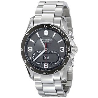Victorinox Swiss Army Men's 241618 'Chrono Classic' Chronograph Stainless Steel Watch