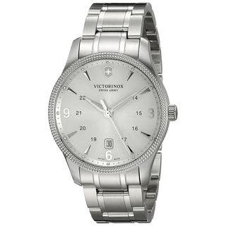 Victorinox Swiss Army Men's 241712 'Alliance' Stainless Steel Watch|https://ak1.ostkcdn.com/images/products/14634301/P21174480.jpg?impolicy=medium