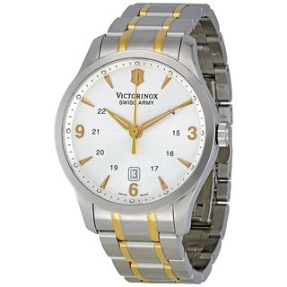 Victorinox Swiss Army Men's 241477 'Alliance' Two-Tone Stainless Steel Watch
