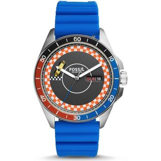 Fossil Men's CH3053 'Sport 54' Blue Silicone Watch