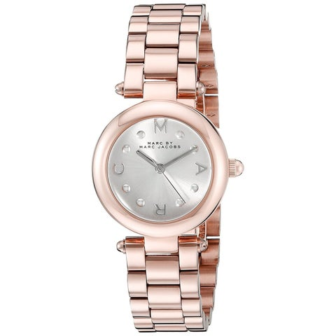 Marc Jacobs Women's MJ3452 'Dotty' Rose-Tone Stainless Steel Watch
