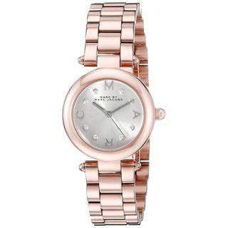 Marc Jacobs Women's MJ3452 'Dotty' Rose-Tone Stainless Steel Watch