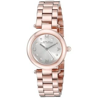Marc Jacobs Women's MJ3452 'Dotty' Rose-Tone Stainless Steel Watch https://ak1.ostkcdn.com/images/products/14634370/P21174534.jpg?impolicy=medium